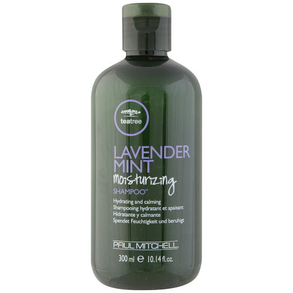 Lavender and mint shampoo