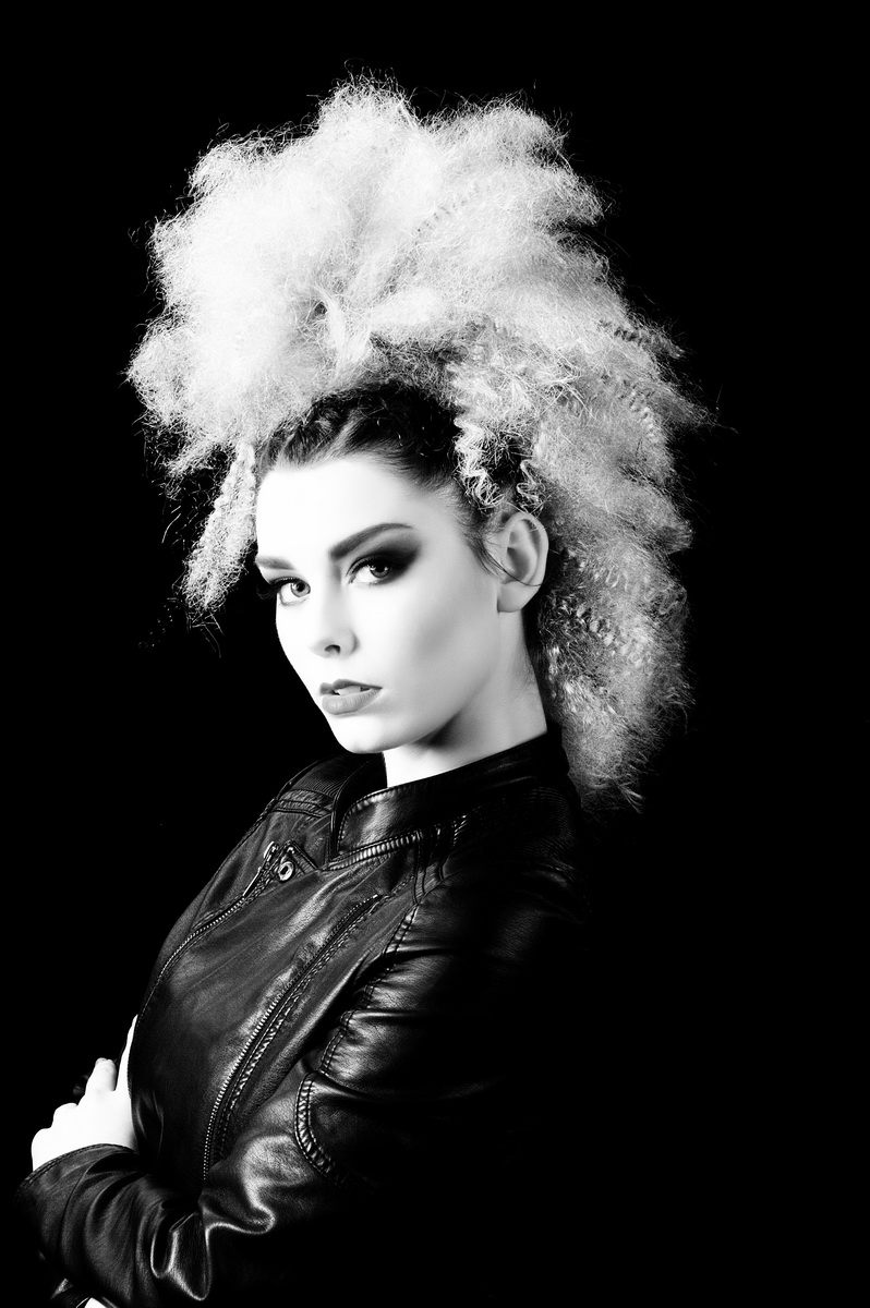 photographic hair collection